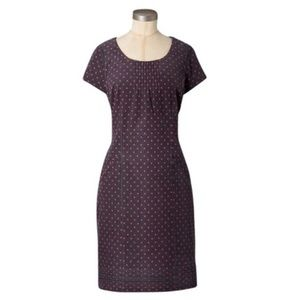 Boden Montmartre Corduroy Polka Dot Shift Dress